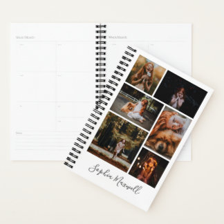 6 Photo Collage Personalized Planner