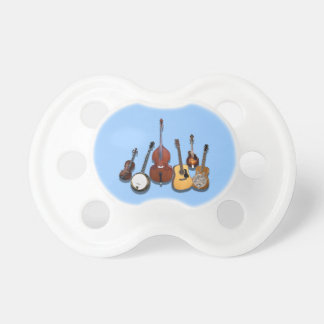 6 PIECE  BAND-PACIFIER6 PACIFIER
