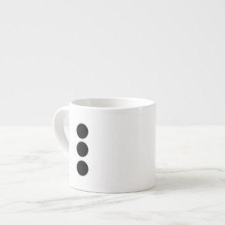 6 Pips 6 Oz Ceramic Espresso Cup