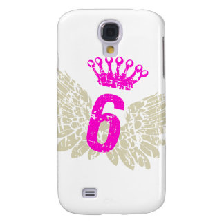 #6 Raspberry Wings Samsung Galaxy S4 Cover