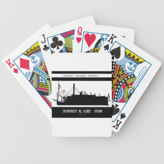 6 rob e lee bw bicycle playing cards