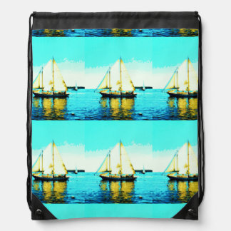 6 schooners sailing backpack