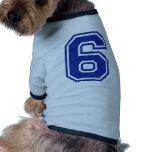 6 - seis camiseta de perrito