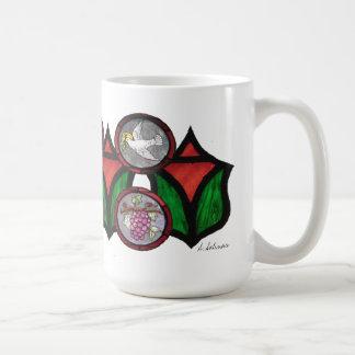 #6 Series My Pastor's Mug Stained Glass Mug
