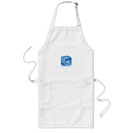 6-sided Die Long Apron