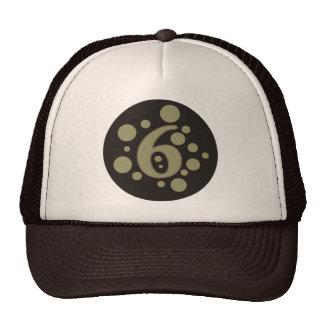 6-Six Trucker Hat