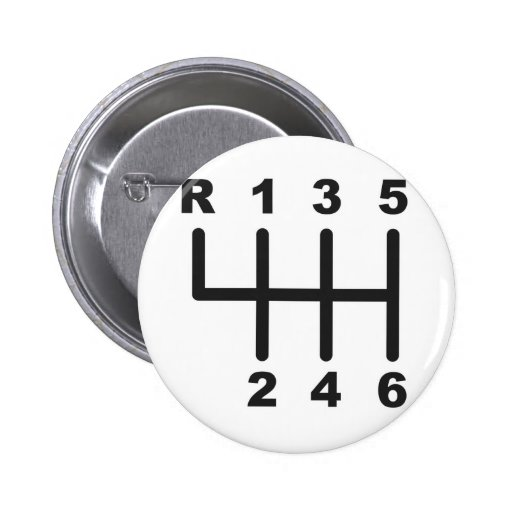 6 Speed Shift Gate Buttons