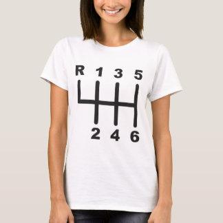 6 Speed Shift Gate T-Shirt