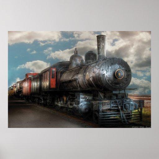 6 - Tren - locomotora de vapor de G de la clase de Impresiones