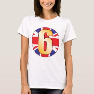 6 UK Gold T-Shirt