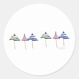 6 Umbrellas Sticker