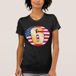 6 USA Gold T-Shirt