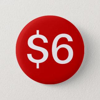 $6 Vendor / Sales Button