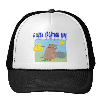 6 Week Vacation Time Trucker Hat