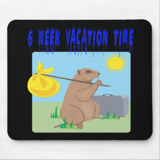 6 Week Vacation Time Mouse Pad