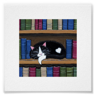 """6"""" x gato caprichoso del libro el dormir del arte"""