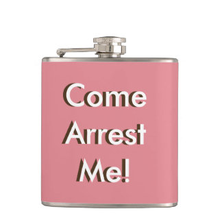 6oz. stainless steel flask-hip on-the-go accessory flask