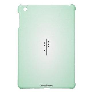 6Q-Logo green Case For The iPad Mini