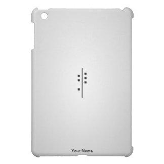 6Q-Logo grey iPad Mini Cases