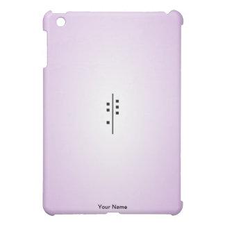 6Q-Logo purple iPad Mini Cover