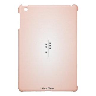 6Q-Logo red iPad Mini Covers