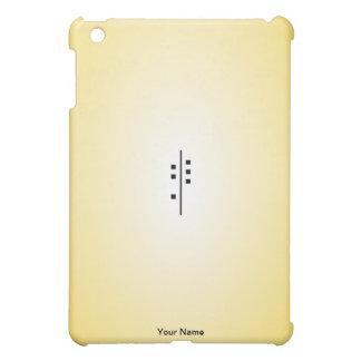 6Q-Logo yellow iPad Mini Cases