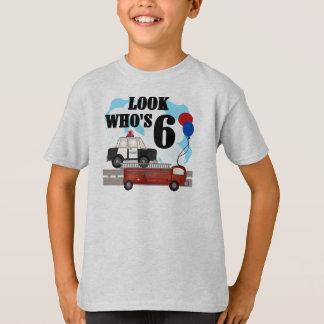 6ta camiseta del cumpleaños de los héroes diarios