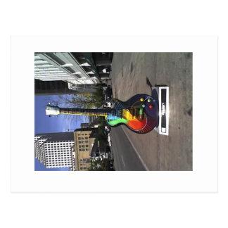 6ta guitarra de la calle, serie de Austin Tarjeta Postal