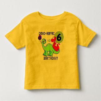 6tas camisetas y regalos del cumpleaños del camisas