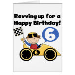 6tas camisetas y regalos del cumpleaños del coche  felicitaciones
