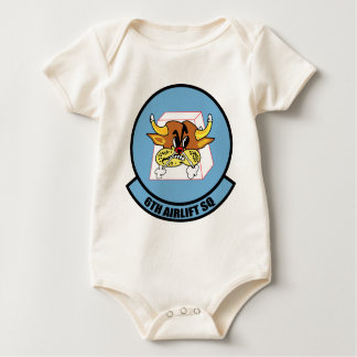 6th Airlift Squadron Baby Bodysuit