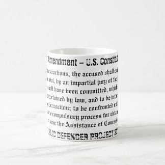 6th Amendment Mug