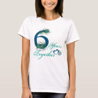 6th anniversary / 6 / 6th / number 6 T-Shirt