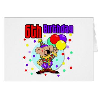 6th Birthday Australia Birthday Greeting Cards