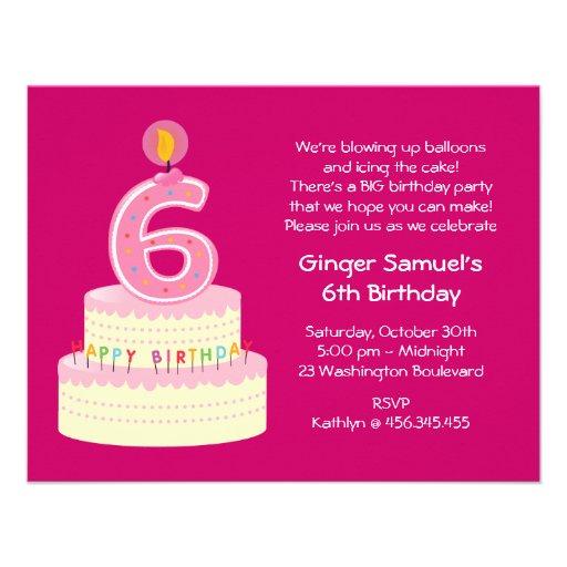 Simple Rd Birthday Cake