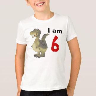 6th birthday dinosaur gift idea T-Shirt