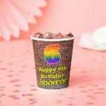 [ Thumbnail: 6th Birthday: Fun Graffiti-Inspired Rainbow 6 ]