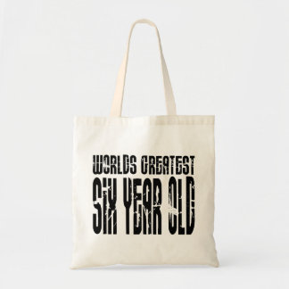 6th Birthday Party Worlds Greatest Six Year Old Tote Bag