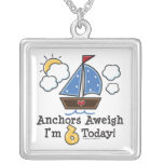 6th Birthday Sailboat Necklace