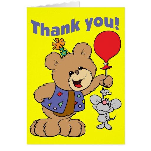 6th Birthday Teddy Bear Greeting Card