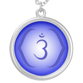 6th Chakra - Ajna Round Pendant Necklace