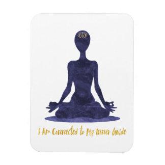 6th Chakra Third Eye Anja Affirmation Magnet