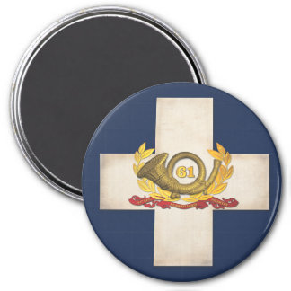 """6th Corps Badge 3"""" Magnet"""