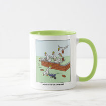6th Day of Christmas (Six Geese a-Laying) Mug