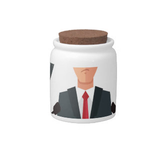 6th February - Lame Duck Day - Appreciation Day Candy Jar
