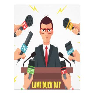 6th February - Lame Duck Day - Appreciation Day Letterhead