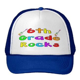 6th Grade Rocks Trucker Hat