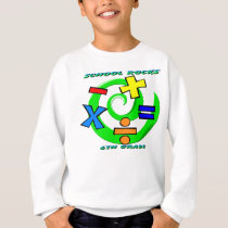 6th Grade Rocks - Math Symbols Sweatshirt