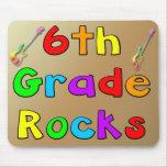6th Grade Rocks Mousepads
