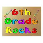 6th Grade Rocks Post Card